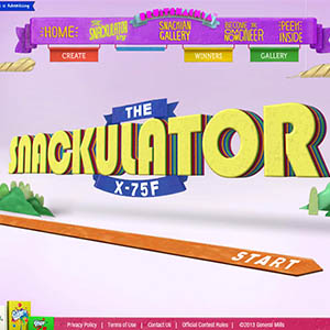 The Snackulator X-75F